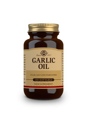 Solgar--Garlic--Oil--100--softgels