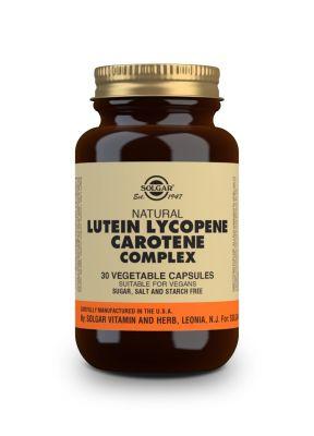 Solgar--Lutein--Lycopene--Carotene--Complex--30--vegcaps