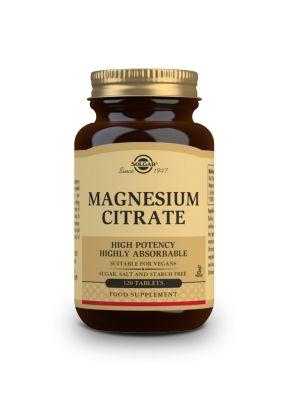 Solgar--Magnesium--Citrate--200--mg--120--tabs
