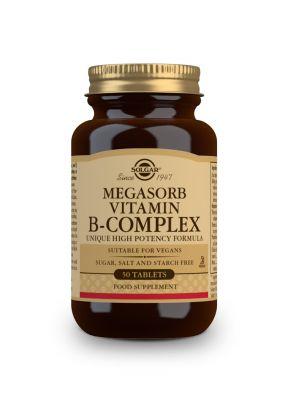 Solgar--Megasorb--Vitamin--B--Complex--50--tabs
