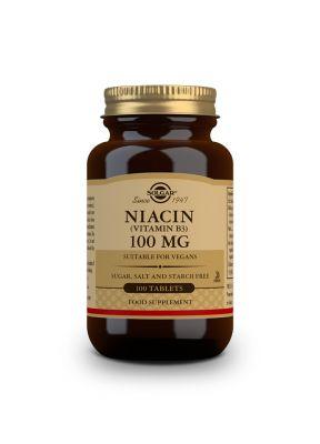 Solgar--Niacin--B3--100--mg--100--vegcaps