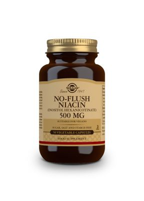 Solgar--No--Flush--Niacin--3--500--mg--Inositol--Hexanicotinate--50--vegcaps--