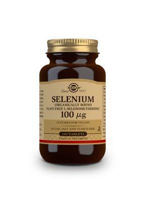 Solgar--Selenium--100--g--100--tabs