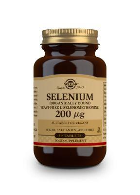 Solgar--Selenium--200--g--50--tabs