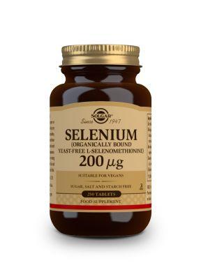 Solgar--Selenium--200--g--250--tabs