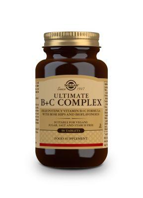 Solgar--Ultimate--B----C--Complex--90--tabs