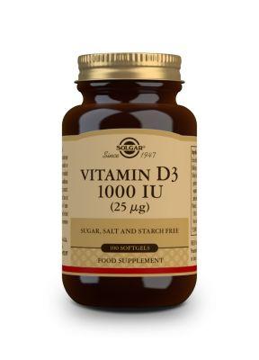 Solgar--Vitamin--D3--1000--IU--100--softgels