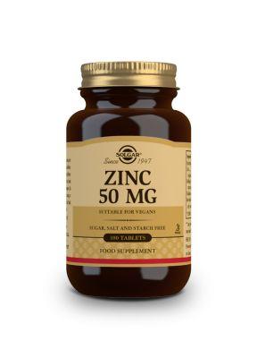 Solgar--Zinc--Gluconate--50--mg--100--tabs