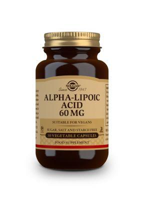 Solgar Alfa Lipoic Acid 60 mg 30 veg.caps