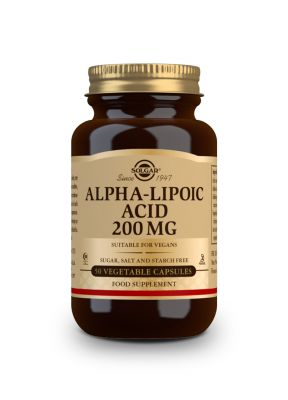 Solgar Alfa Lipoic Acid 200 mg 50 veg.caps