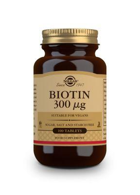 Solgar Biotin 300 μg 100 veg.caps