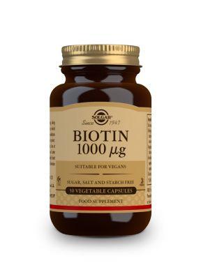 Solgar Biotin 1000 μg 50 veg caps