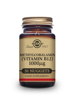 Solgar Methylcobalamin Vitamin B-12 1000 μg  30 nuggets