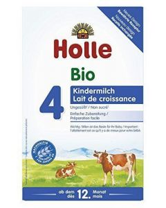 Holle 4 Βιολογικό Βρεφικό Γάλα 600 gr