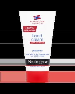Neutrogena Κρέμα Χεριών Concentrated Χωρίς Άρωμα 50 ml