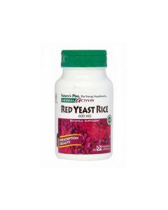 Nature's Plus Red Yeast Rice 600 mg 60 veg.caps