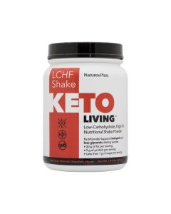 Nature's Plus KetoLiving LCHF Shake Natural Chocolate Flavour 675 gr