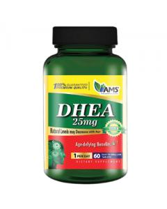 AMS DHEA 25 mg 60 tablets