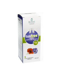 Bionat Tusfree syrup 150 ml