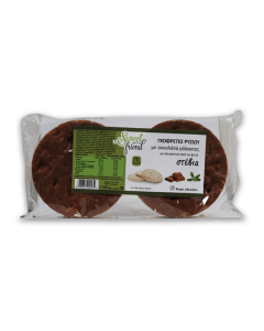 Sweet Friend Rice Cakes with milk chocolate & stevia 65 gr