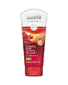 Lavera Colour & Shine Conditioner Organic Cranberry & Avocado colour treated hair 200 ml