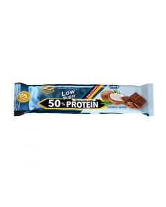 Z-Konzept Low Sugar 50% Protein Bar Chocolate Coconut 50 gr