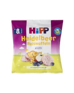 Hipp Baby Rice Puff Apple & Raspberry  35 gr