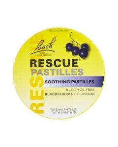 Dr Bach Rescue Pastilles Soothing Blackcurrant flavour 50 gr