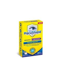 MacuShield Original Chewable For Eye Health (Bilberry Flavoured) 30 chewable tabs