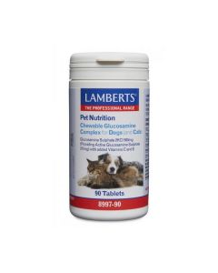 Lamberts Pet Nutrition Chewable Glucosamine Complex for Dogs and Cats 90 tabs