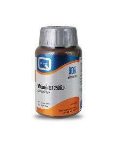 Quest Vitamin D3 2500 IU 60 tabs