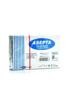 Asepta Gauze sterile 12 pcs 17 x 30 cm