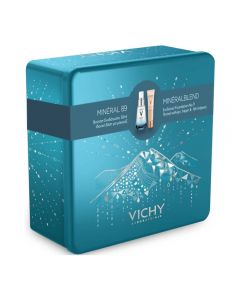 Vichy Mineral 89 30 ml & Mineral Blend Hydrating Foundation 06 Ocher 30 ml