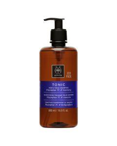 Apivita Hair Care Shampoo Men's Tonic Hippophae TC & rosemary Eco Pack 500 ml