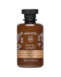 Apivita Royal Honey Creamy Shower Gel with essential oils 250 ml