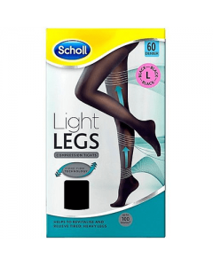 Dr Scholl Light Legs Tights 60 den Black Large