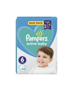 Pampers Active Baby Maxi no6 (13-18 kg) 44 nappies
