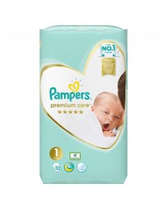 Pampers Premium Care no1 (2-5 kg) 52 nappies