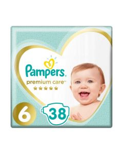 Pampers Premium Care no6 (13+ kg) 38 nappies