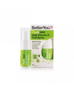 BetterYou Dlux Vitamin D oral spray 3000 IU 15 ml