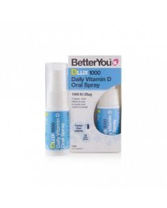 BetterYou Dlux Vitamin D oral spray 1000 IU 15 ml