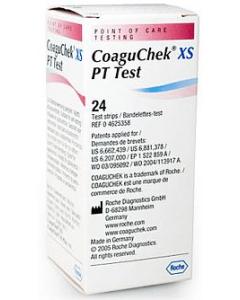 CoaguChek Roche 24 measuring tapes