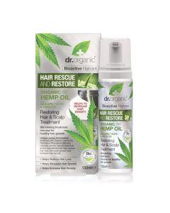 Dr. Organic Hemp Oil Restoring Hair & Scalp Treatment 150 ml