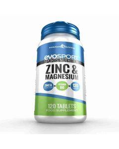 Evolution Slimming Evosport Zinc & Magnesium 120 tabs