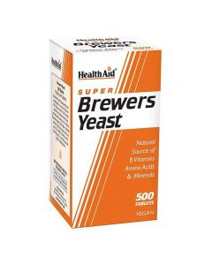 Health Aid Brewers Yeast  500 tabs