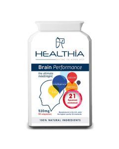 Healthia Brain Performance 510 mg 90 caps