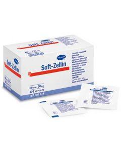 Hartmann Soft Zellin Κομπρέσες εμποτισμένες σε αλκοόλη100τεμ
