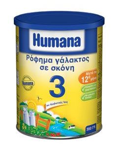 Humana 3 Powdered milk drink 350gr
