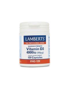 Lamberts Vitamin D3 4000 IU 120 caps