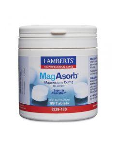Lamberts MagAsorb 150 mg 180 tabs